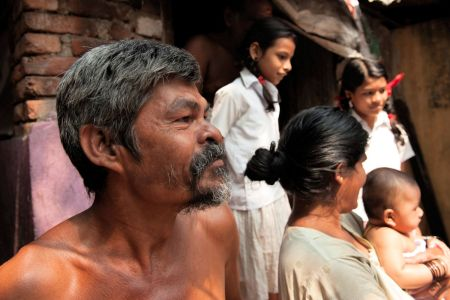 Faces of India: A family man