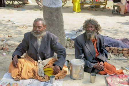 Faces of India: 2 beggars