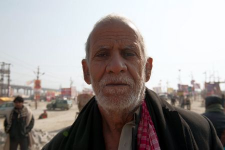Faces of India: A wise old man