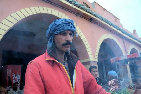 Faces of Morocco: A Berber at the Marrakesh market