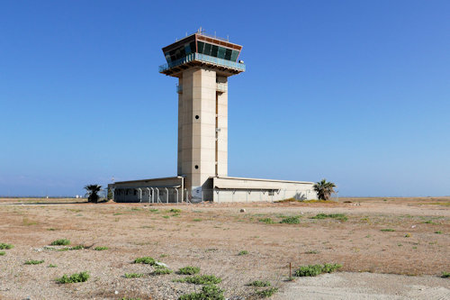 Sde Dov-May 2020: The Control Tower – the only reminder if the old airport still standing
