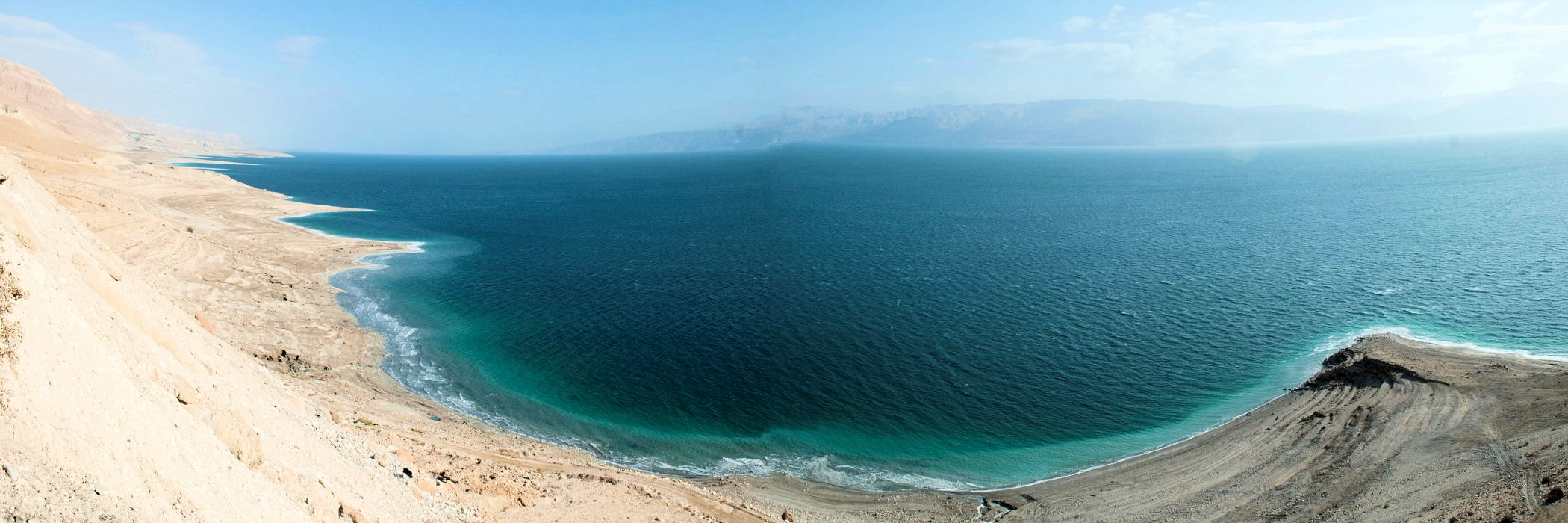 Dead Sea as seen from the Judean Desert